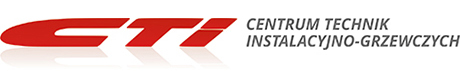 centrum technik instalacyjno-grzewczych cti logo